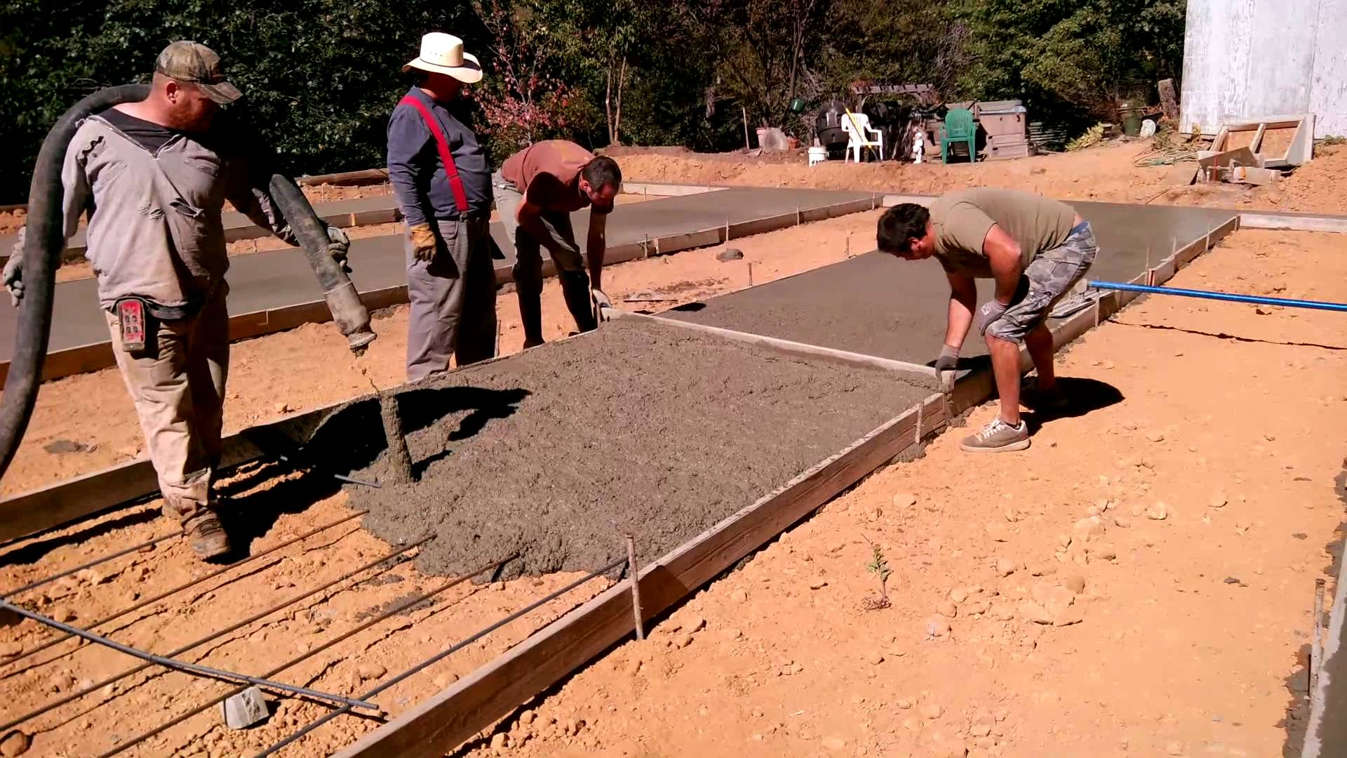 slab foundation construction - HD 1920×1080